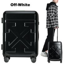 Off-White BLACK QUOTE LUGGAGE アロー スーツケース UNISEX