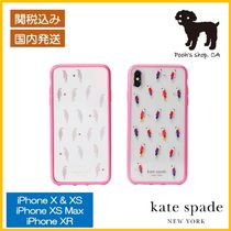 【Kate Spade】rjeweled flock party iphone ケース◆国内発送◆