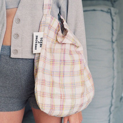 ☆AWESOME NEEDS☆ 送料・関税込み SECOND ECO BAG_RAINBOW