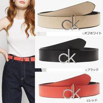 【Calvin Klein】RE LOCK LOW FIXED ロゴ ベルト 3カラー