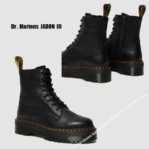 Dr Martens★JADON III 8EYE BOOT★厚底★ジッパー★ブラック