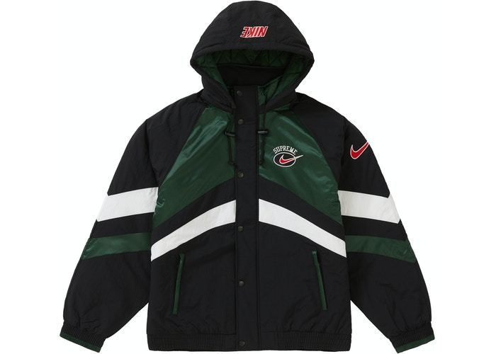 Supreme Nike Hooded Sport Jacket Green SS19 (Supreme/アウターその他) 56583874