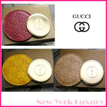 GUCCI★素敵!Compact Mirror With Guccissima Leather