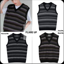 [ FLARE UP ] ★20'SS NEW★FLAREUP 6mix over knit Vest