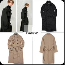 [ FLARE UP ]★ 韓国大人気★over trench coat