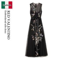 RED VALENTINO(レッドヴァレンティノ) ワンピース Red Valentino Embroidered tulle dress