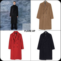 [ FLARE UP ]★ 韓国大人気★over double long (WOOL) coat