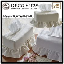 ★送料・関税込★DECOVIEW★WASHING FRILL TISSUE COVER★