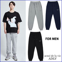 アクメドラビ ADLV★TWICE着用★ BASIC LOGO PANTS FOR MEN _3色