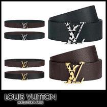 【20AW】LOUIS VUITTON サンチュール LVファセット リバーシブル