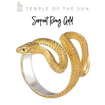 【TEMPLE OF THE SUN】Serpent Ring Gold リング ゴールド