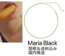 Maria Black◆CANTARE チェーン ネックレス ゴールド 関税送料込