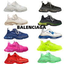 BALENCIAGA TRIPLE S CLEAR SOLE SNEAKER メンズシューズ