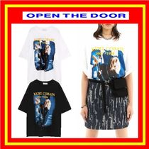 [OPEN THE DOOR]  rock 1/2 T (2 color) ◆ 追跡付