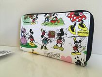 Disney Mickey Minnie Classic Cartoon Wallet 限定1点国内即送