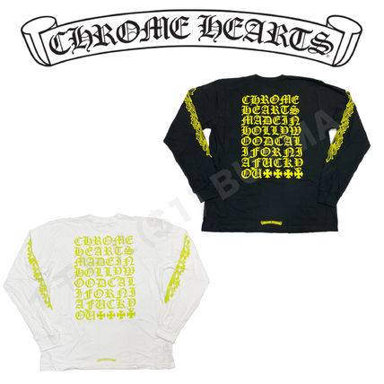 Chrome Hearts クロムハーツ Lime Letter L/S Tee ロンT