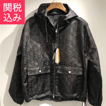GUCCI★20-21AW Off The Grid GG ナイロン フーデッドジャケット