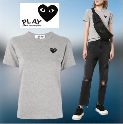 ★Comme Des Garcons Play★ ロゴ Tシャツ