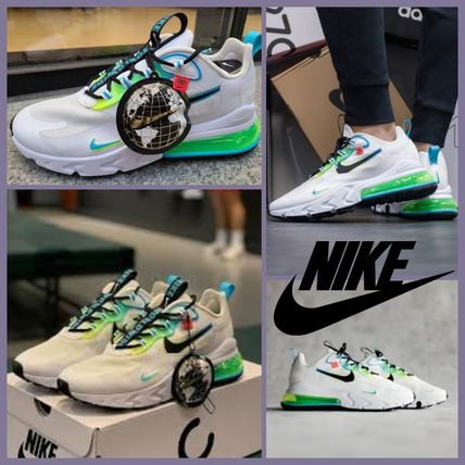 """NIKE] AIR MAX 270 REACT """"WORLD WIDE PACK"""""""