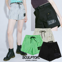 ★SCULPTOR★日本未入荷 韓国 パンツ String Mesh Pocket Shorts