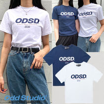 ★ODD STUDIO★日本未入荷 韓国 人気ODSD LOGO SLIM FIT T-shirt