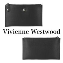 【Vivienne Westwood】Victoria Purse レザークラッチバッグ