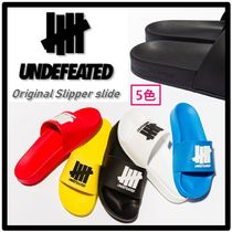 ★送料・関税込★UNDEFEATED★Original Slipper slide★5色