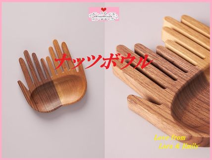 Anthropologie 食器(皿) 最安値保証*関送料込【Anthro】Steph Trowbridge Hands Nut Bowl
