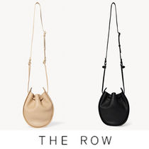 The Row(ザ・ロウ) ショルダーバッグ・ポシェット The Row Drawstring Pouch in Leather