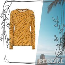新着★関税送料込み★Animal-print cotton T-shirt