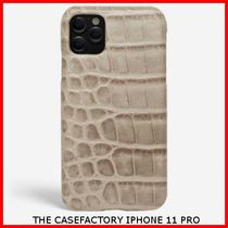 送関込☆THE CASEFACTORY☆IPHONE 11 PRO CROCODILE PATTERN
