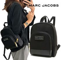 MARC JACOBS ロゴプレート ナイロン ミニ バックパック 男女兼用