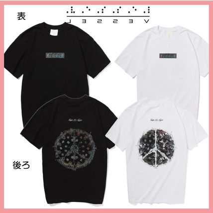 XVESSEL Tシャツ・カットソー 最旬☆XVESSEL PAISLEY PEACE TEE 2color☆送料関税込