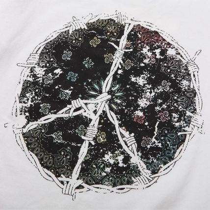 XVESSEL Tシャツ・カットソー 最旬☆XVESSEL PAISLEY PEACE TEE 2color☆送料関税込(8)
