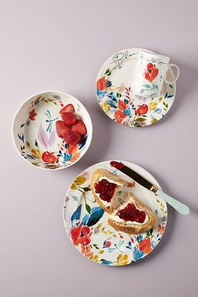 Anthropologie 食器(皿) セール! Anthropologie☆Brynne Side Plates 4枚セット(3)