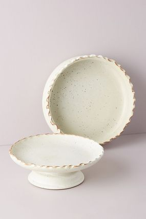 Anthropologie 食器(皿) セール! Anthropologie☆Pinched Edge Serving Bowl(3)
