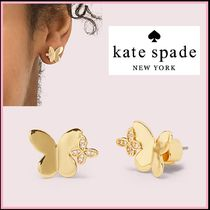 kate spade☆in a flutter studs 蝶々 ピアス ☆送料込