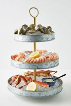 セール! Anthropologie☆Seafood Tower Platter