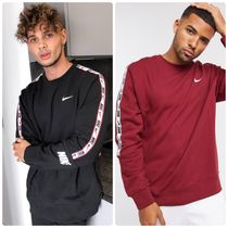Nike Repeat Pack ロゴ taping crew neck スウェット 関送料無料