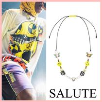 SALUTE *EVAE+ SMILEY パールネックレス 送料込み
