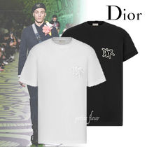 DIOR AND SHOWN コラボ 2020AW Tシャツ ロゴ 2色 コットン