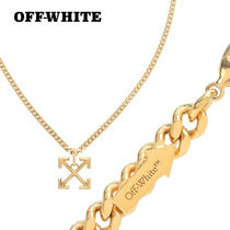 sale!【OFF-WHITE】アローモチーフ★真鍮チェーンネックレス