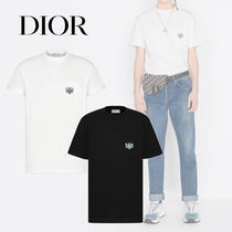 DIOR AND SHAWN Stussy ハチ刺繍 半袖 Tシャツ