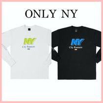 Only NY 新作 City Runners ロゴ 長袖 Tシャツ 2色 送料込み