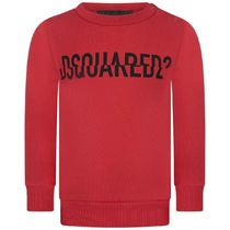 2020AW DSQUARED2 Baby ロゴスウェット RED (CP-36m)