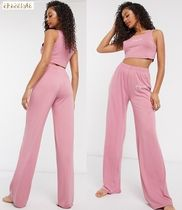 ASOS*Missguided*ジャージパジャマセット/rose