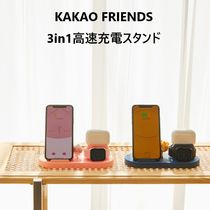 【Kakao Friends】3in1 高速充電スタンド (Ryan / Apeach)