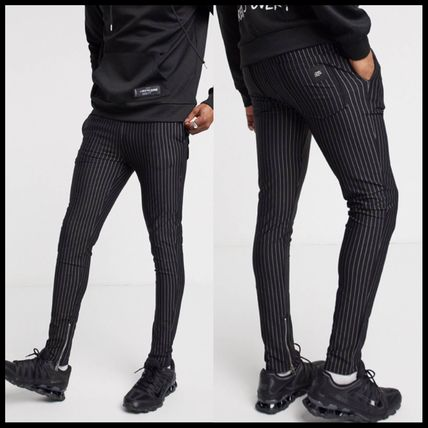 ASOS パンツ Sixth June trousers with pinstripe