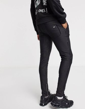 ASOS パンツ Sixth June trousers with pinstripe(3)