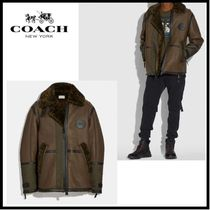 Coach X Michael B. Jordan Shearling Aviator Jacket